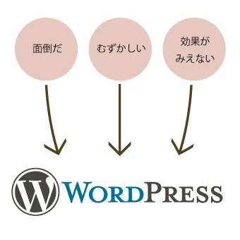 WordPressで解決しましょう!